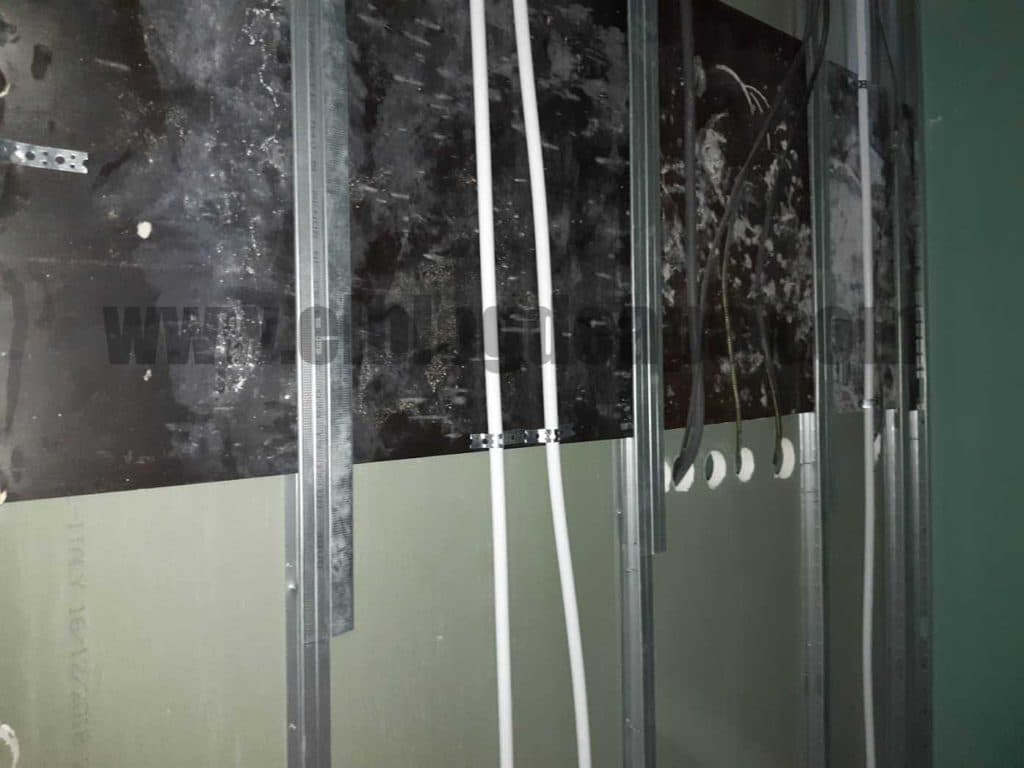 Instalaciones en tabique de yeso laminado
